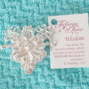 """Tidings of Love """"Wisdom"""" Pin"""